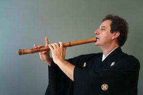 Music Goes Zen: Reeves-Reed Arboretum Welcomes Grand Shakuhachi Master James Nyoraku , photo 2