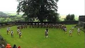 Gov. Livingston Highlander Marching Band Performs In Scotland, photo 1