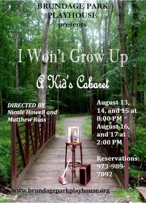 New Beginnings: A Kid's Cabaret Begins Wed. Aug. 13, photo 1