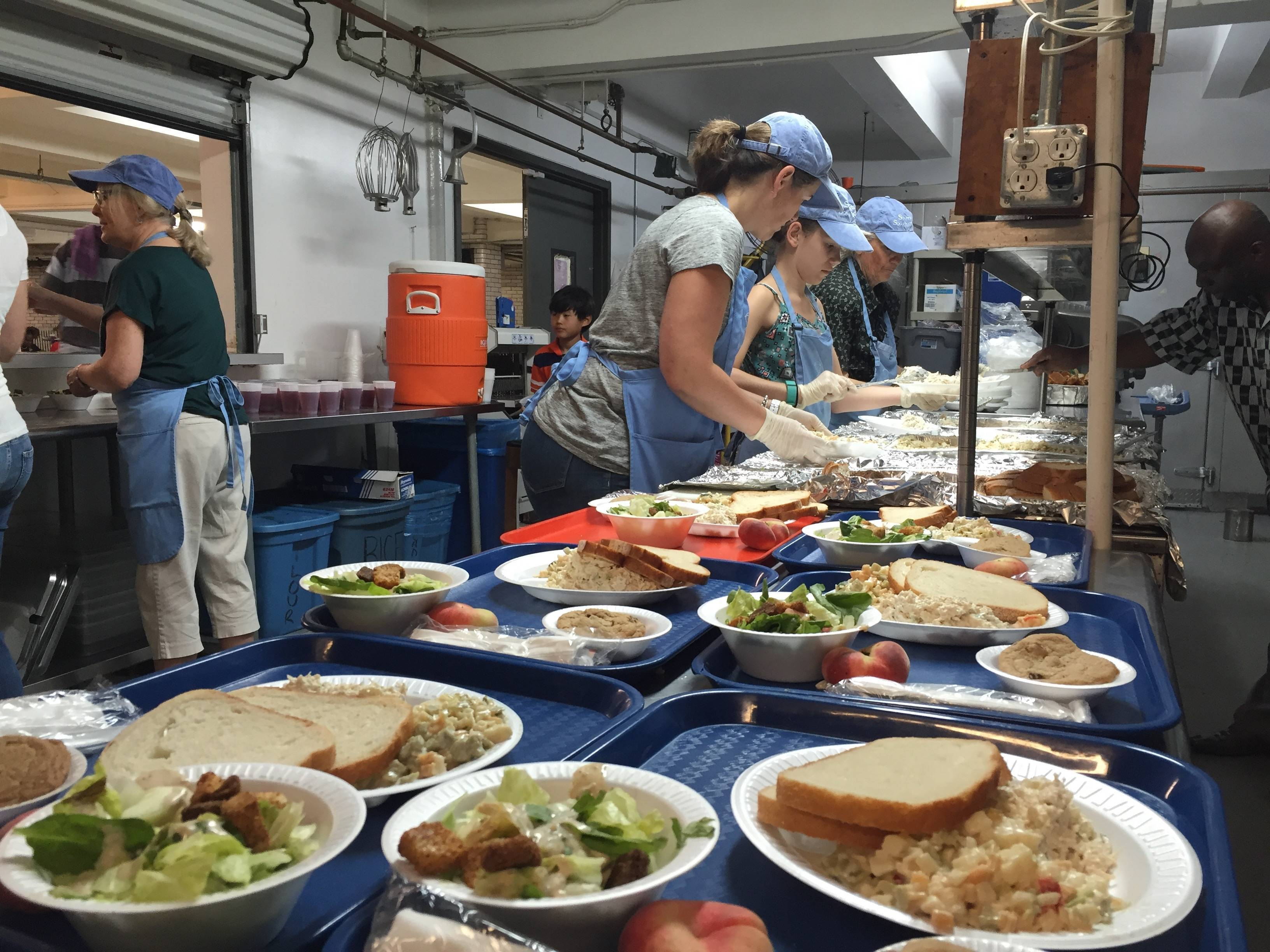 Parishioners At Community Congregational Church In Short Hills Help Combat Hunger At St Ann S