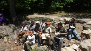 Omega Psi Phi Fraternity Host Fishing Trip for Paterson Pre-Teens , photo 5