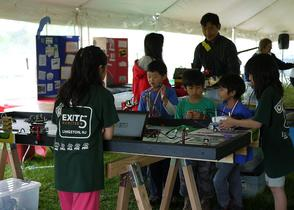 Exit 5 Robotics and FLL robot