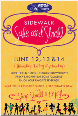 Downtown Millburn Sidewalk Sale Thursday Friday Saturday, photo 1