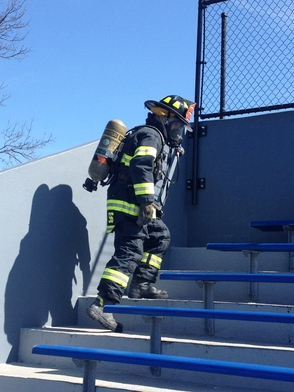 Millburn Firefighter Joe Infantini