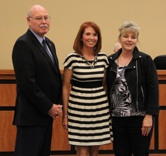 Councilman Gil Gibbs, Vicky Foley and Councilwoman Christine Quinn