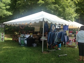 Vendors on hand with handcrafted treasures and more.