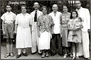 Family of Evelyn Chaim Panish in Shanghai