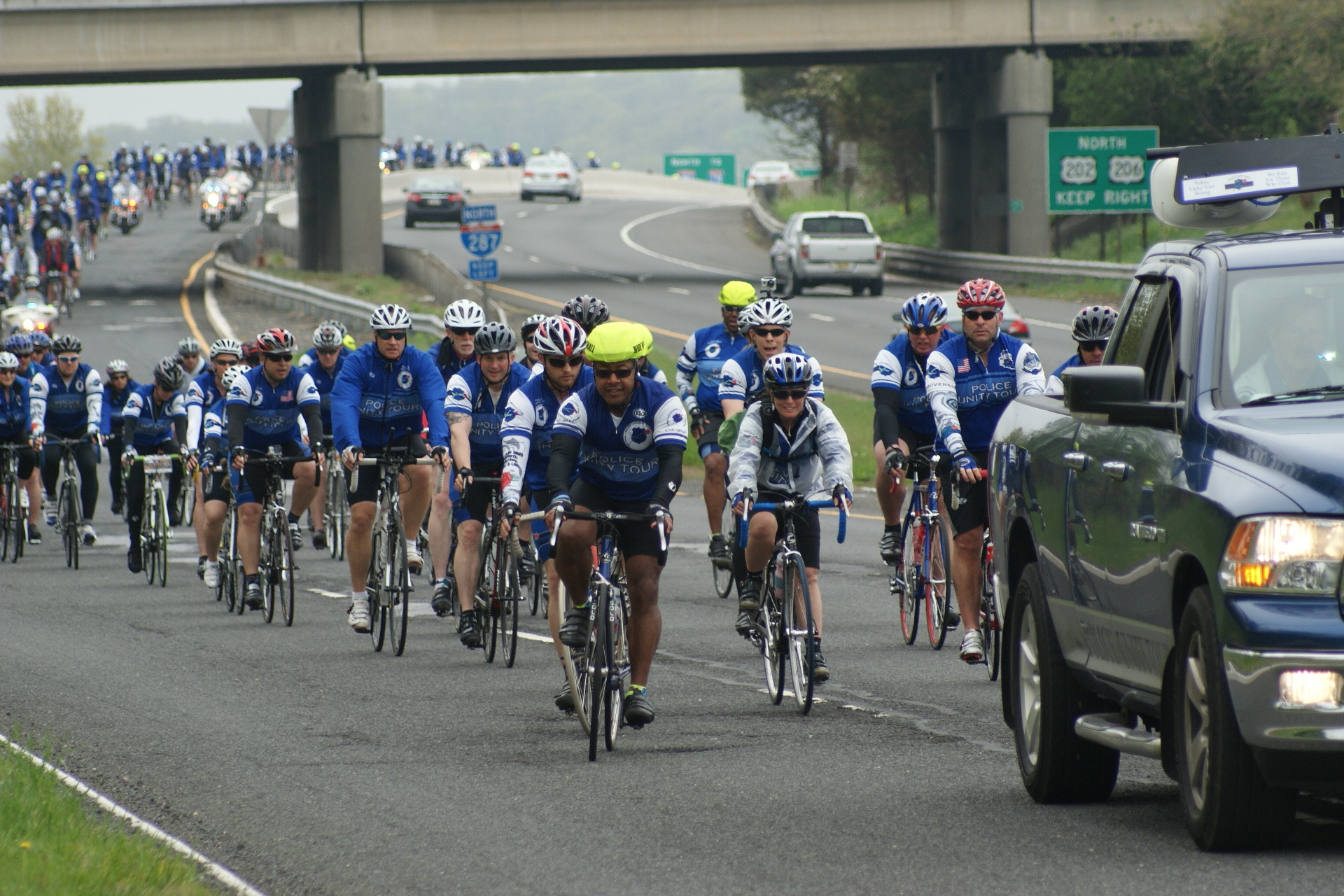 police unity tour travels through somerset county