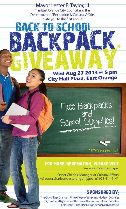 backpack giveaway flyer anta expocoaching co