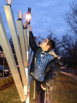 Annual Madison Menorah Lighting and More, photo 2