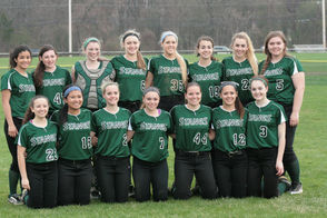 Montville Softball Post-Game Team Photo