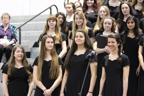 First District-Wide Choir Brings Grades 4-12 Together for Concert, photo 7