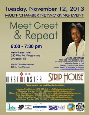 Livingston to Host Event with Four-time Olympian Joetta Clark Diggs, photo 1