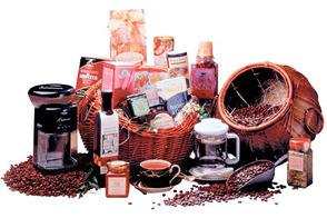 Garden of Eden Coffee Lover Gift Basket