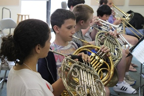 French Horn Students NJYS Summer Camp