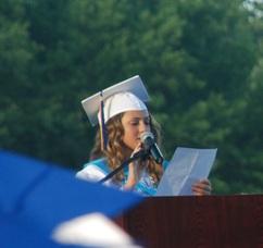 Class President Lauren Firetto