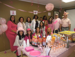 Pink Pajama Party held at local business where all proceeds benefit the fight against Breast Cancer