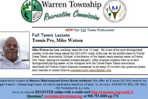 TAPinto The Warren Recreation Department