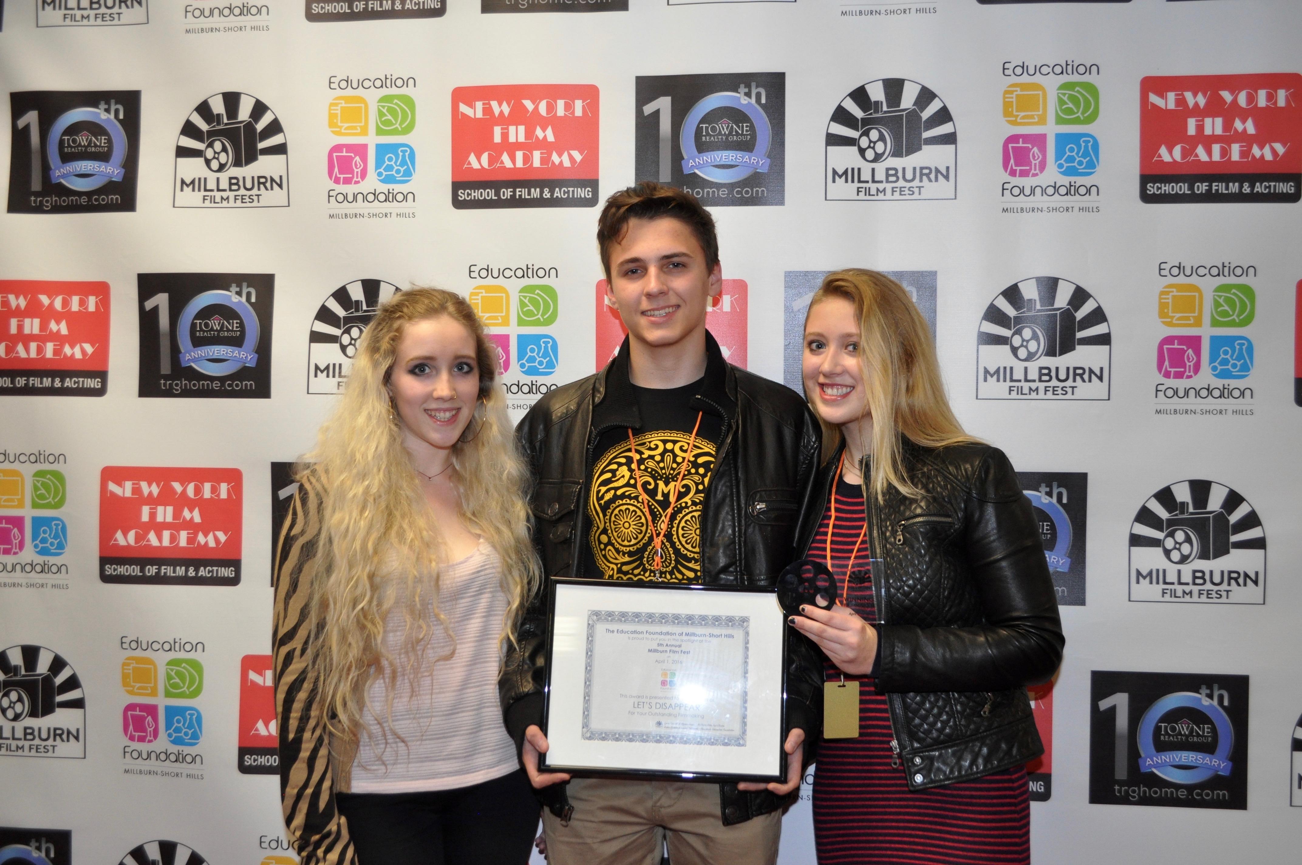 Jasen Aziz Takes Top Prize at the 2016 Millburn Film Fest