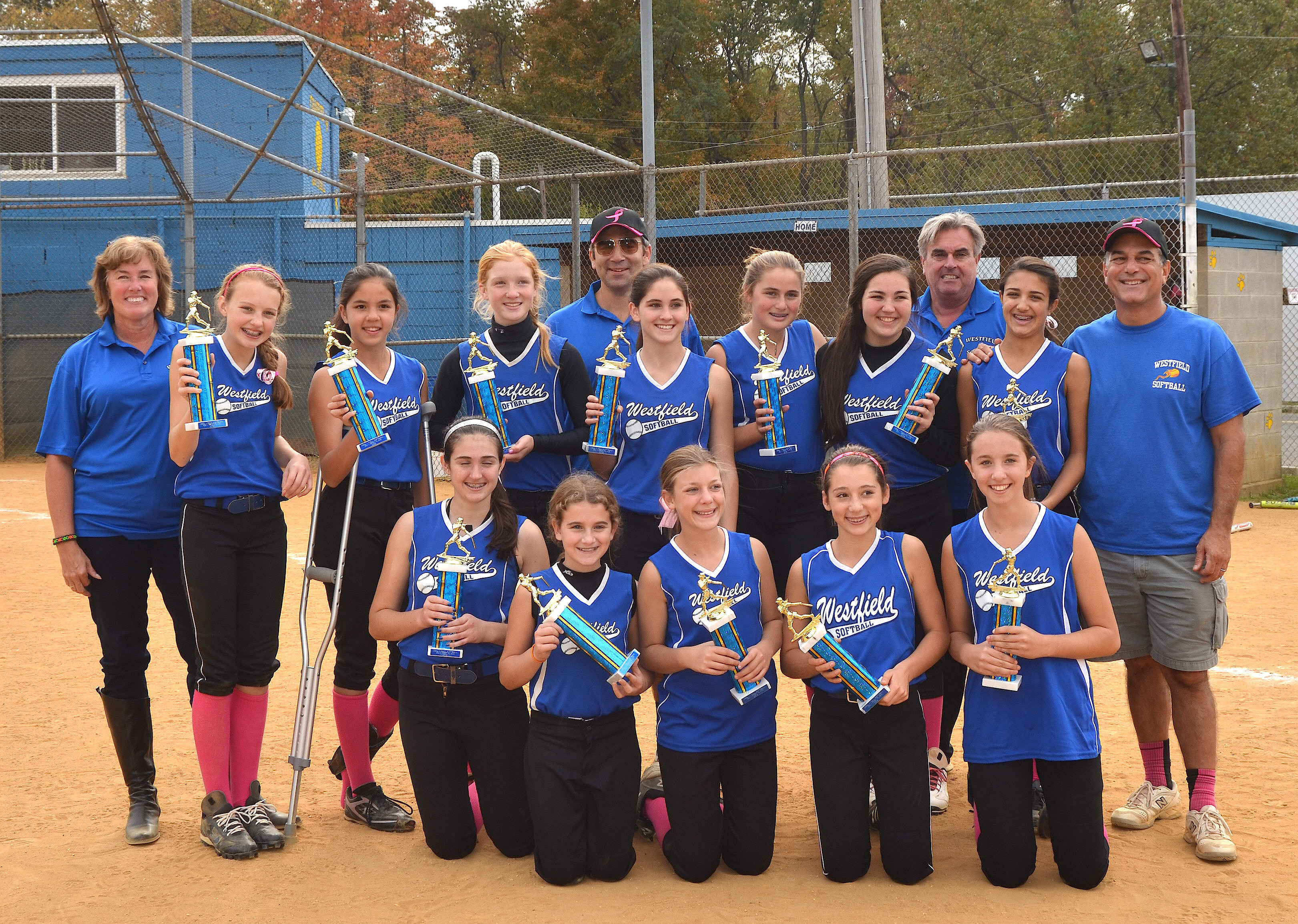 westfield u12 takes championship in cranford fall softball league