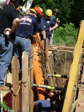 New Providence Technical Rescue Squad Drills Trench Rescue, photo 4