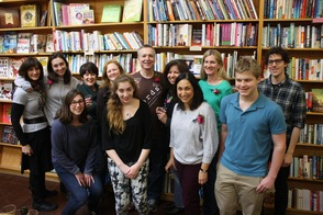 Maplewood Turns Out to Wish [words] Bookstore and its Vocational Training Program Happy Anniversary, photo 1