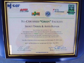 NJ Green Certification
