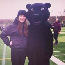 Bear's Football Mascot