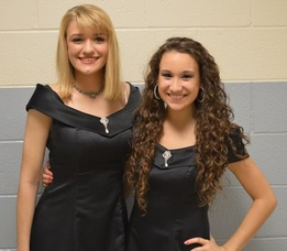 Haley Barna and Melissa DiSanti