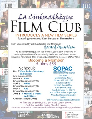 La Cinematheque Film Club East European Series