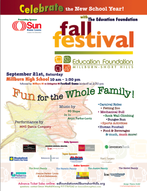 Local Talent to Shine at Millburn Ed Foundation's Fall Festival, photo 3