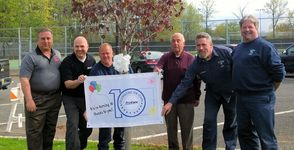 ProCare Rehabilitation Donates Tree to Clark in Recognition of Tenth Anniversary