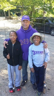Omega Psi Phi Fraternity Host Fishing Trip for Paterson Pre-Teens , photo 3