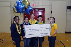 St. John the Apostle Team Receives Grand Prize