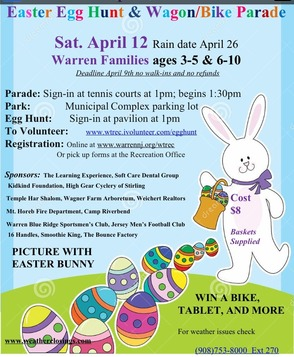 Meet The Easter Bunny, Hunt For Eggs And Learn CPR  With Warren Township Rescue Squad, photo 1