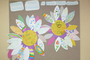 Beautiful Bulletin Board Created by Kent Place and SAGE