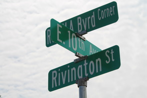 Roselle Honors Rev. Milton A. Byrd with Street Sign, photo 1