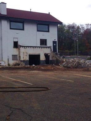 Pals Cabin Demolished