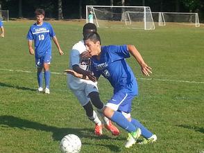 Columbia v Caldwell boy's soccer