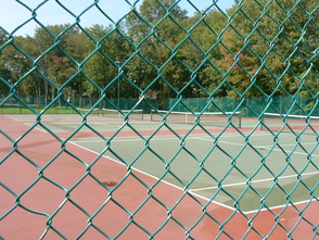 Memorial Tennis Courts Open for Play, photo 1