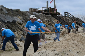 Sobel Interns Exceed Fundraising Goal for Sandy Relief, photo 2