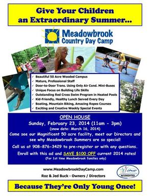 Livingston High School Grad-Owned Meadowbrook Country Day Camp to Hold Open House Sunday, photo 3