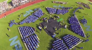 Drone Captures Bird's Eye View of NPHS Graduation, photo 1