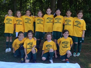 Montville Girls 8U Soccer Team