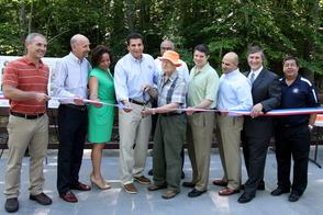 Millburn's Glen Avenue Bridge Reopened with Ceremony, photo 1