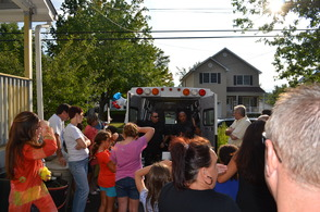 Madison Police Department Attends Block Parties, photo 8