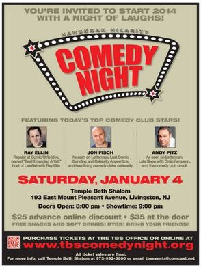 Public is Invited to 'Comedy Night' in Livingston, photo 1