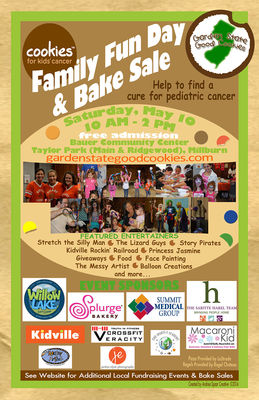 Cookies For Kids' Cancer Family Fun Day Coming Saturday, May 10, photo 1