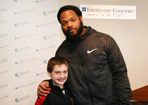 Seahawk's Michael Bennett Speaks and Dines in Livingston
