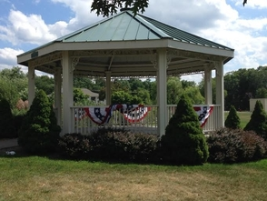 Gazebo at Ginty Field
